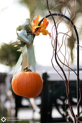 fall autumn leaves wedding