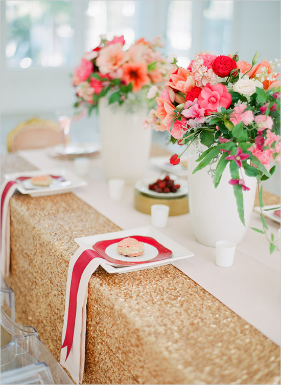 gold sequin tablecloths
